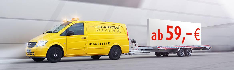 Abschleppdienst und Pannendienst München